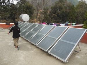 Solarthermie: die Sonne als natürliche Energiequelle nutzen.